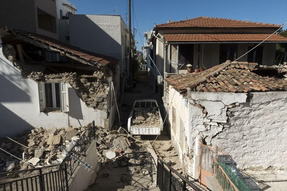 Depremin vurduğu Yunan adası Sisam'da son durum - 35