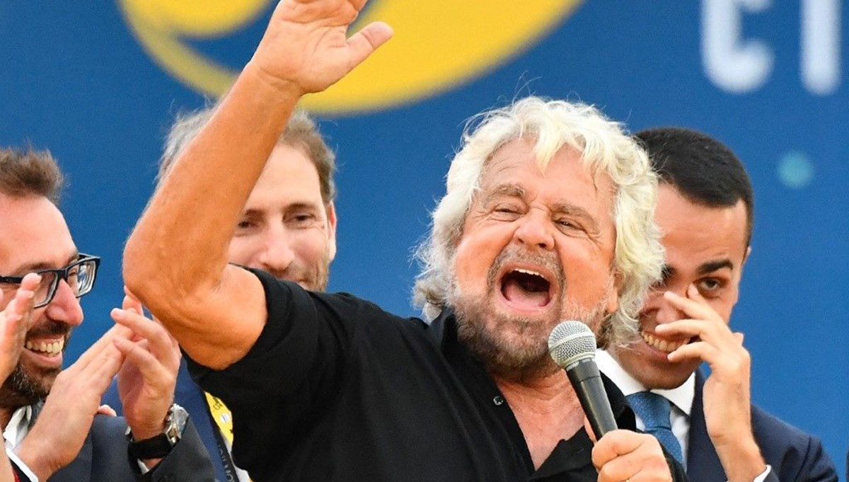 Tecavüzle suçlanan oğluna destek veren komedyen Beppe Grillo'ya tepki
