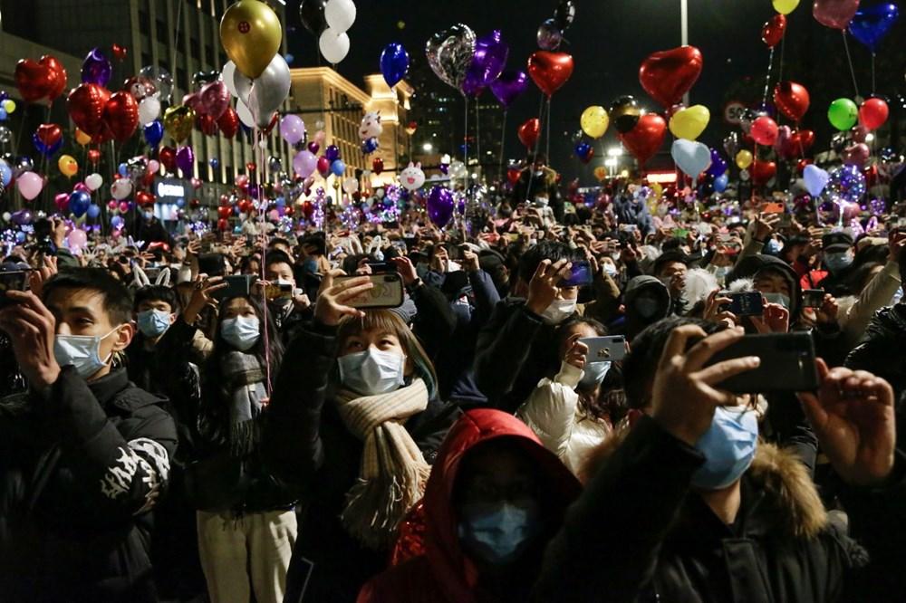 Wuhan'da yeni yıl kutlamaları - 7