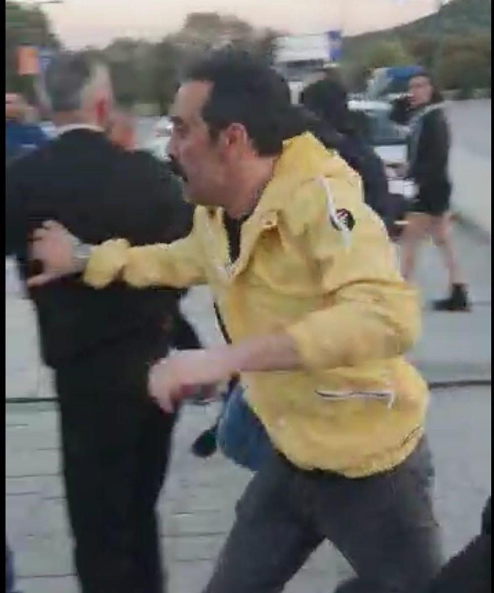 Oyuncu Mustafa Üstündağ Bodrum'da ralli yarışları sonrası heyetle kavga etti - 3