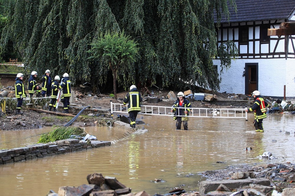 Flood disaster in Germany: The death toll reaches 95 - 1