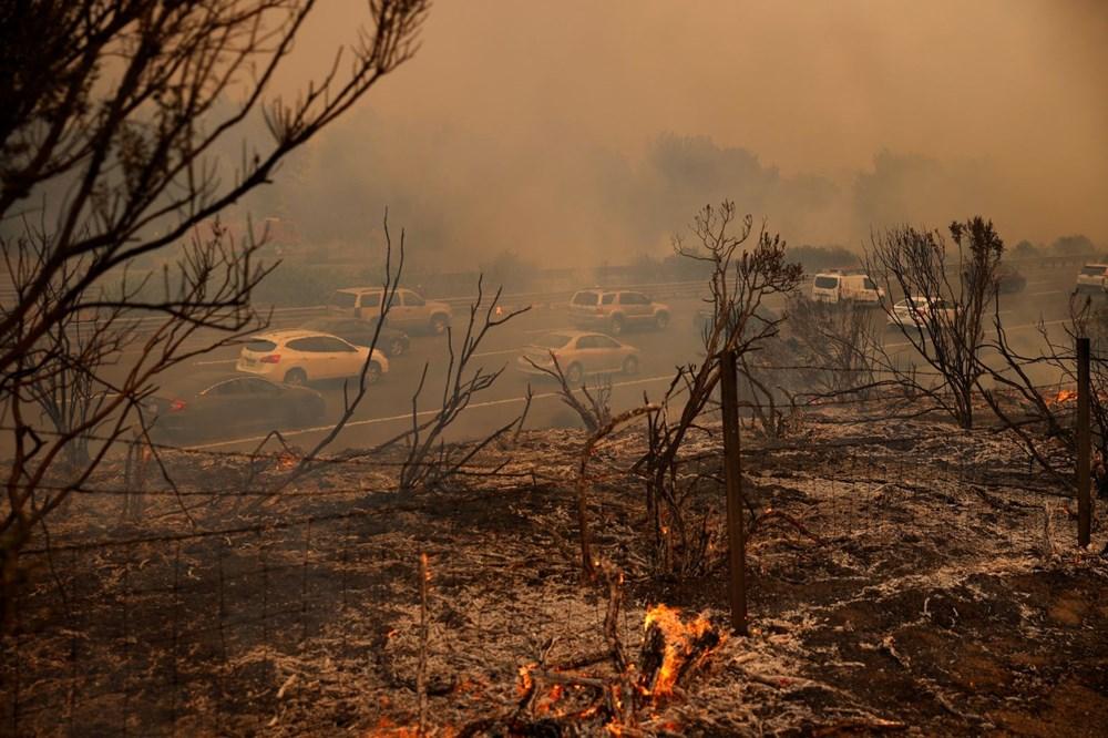 California'da yangınlar kontrol altına alınamadı: Bir helikopter düştü - 13