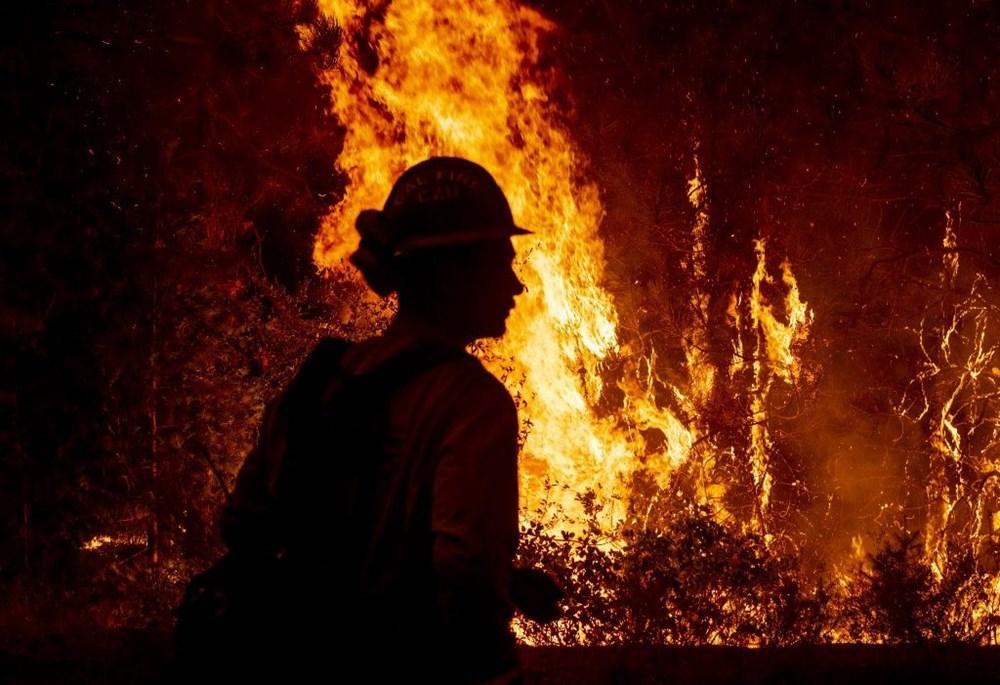 California'da orman yangınları evleri küle çevirdi - 10