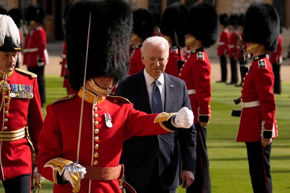 ABD Başkanı Biden, İngiltere Kraliçesi Elizabeth ile buluştu - 5