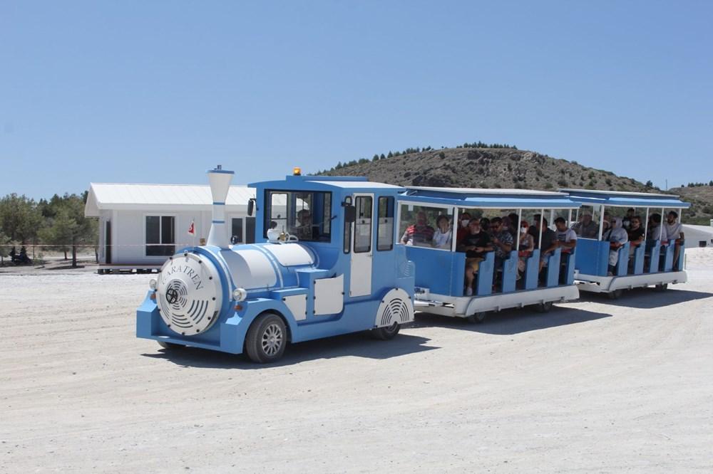 Salda Gölü'ne araç girişi yasaklandı, 'Gara Tren' dönemi başladı - 2