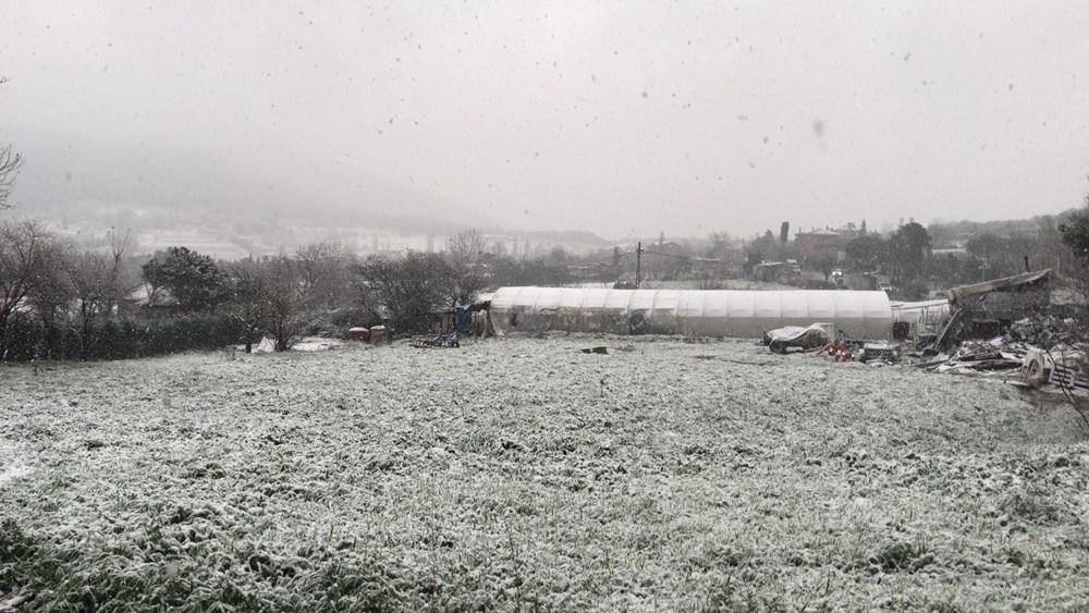 İstanbul'da beklenen kar yağışı başladı - 11