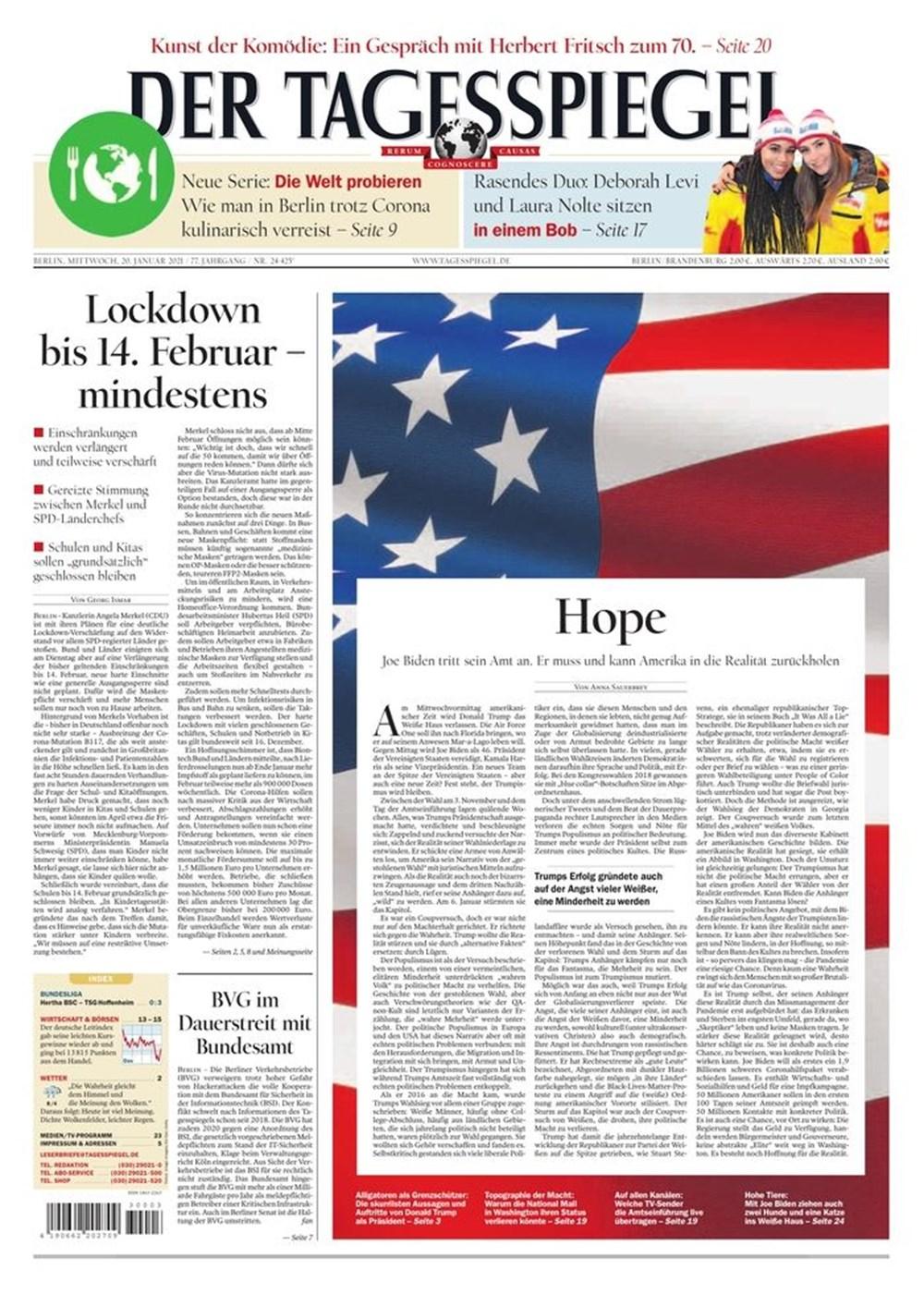 Dünya manşetlerinde Joe Biden: ABD'nin kurtuluşu - 12