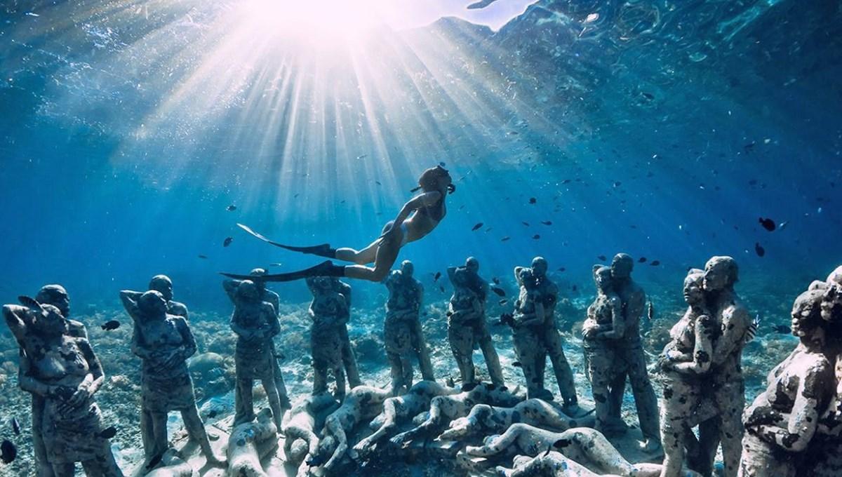 Sanatın en derin hali: Dünyanın en güzel su altı müzeleri