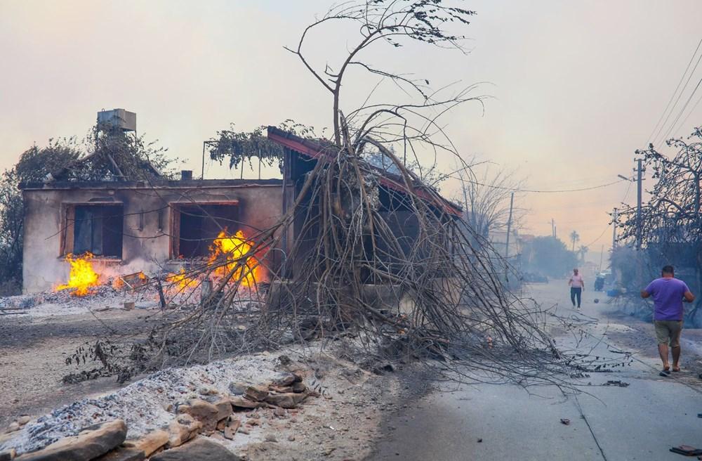 Manavgat'taki yangın evleri kül etti - 8