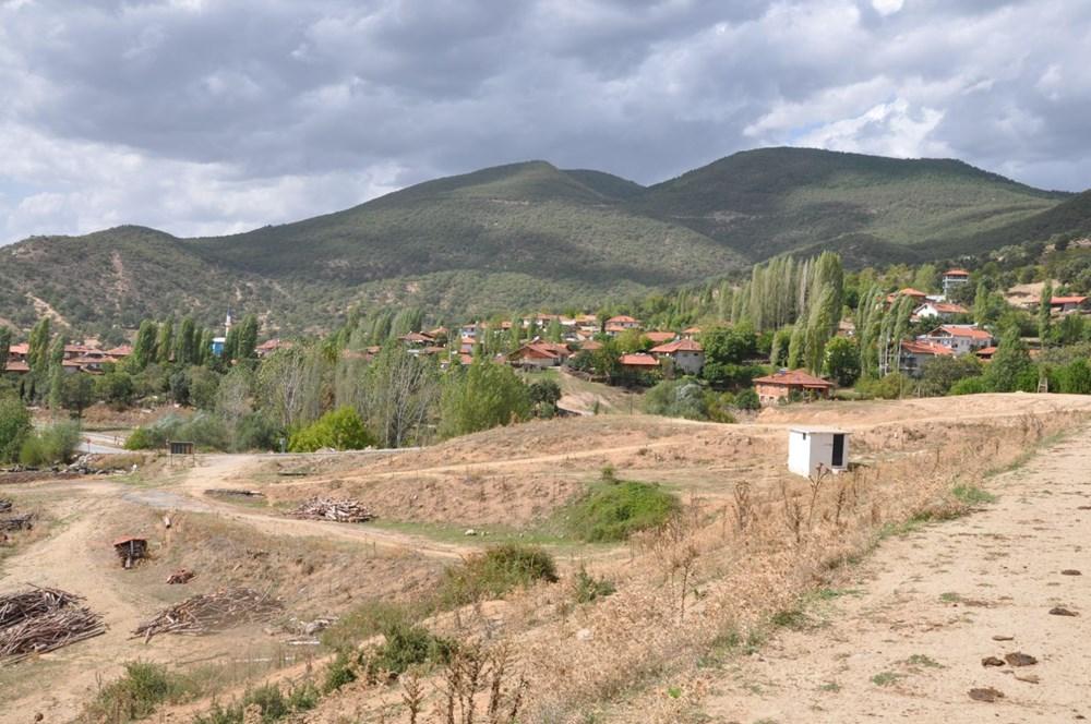 Efir Göleti'inde su seviyesi yüzde 80 azaldı - 3