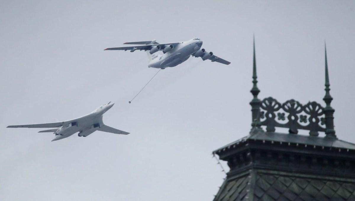Rusya'da Zafer Günü kutlamaları: Moskova'da askeri geçit töreni