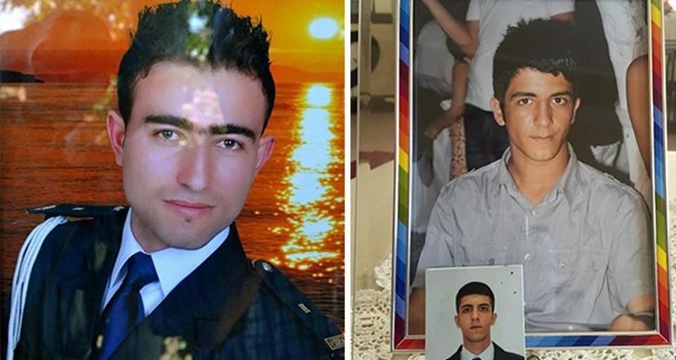 Şehit polisler Feyyaz Yumuşak (solda) ve Okan Acar.