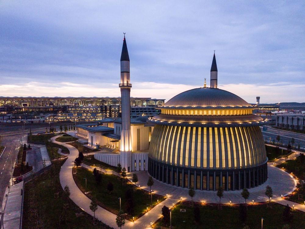 İstanbul Havalimanı'nda 3. bağımsız pist, Devlet Konukevi ve cami hizmete açılıyor - 5