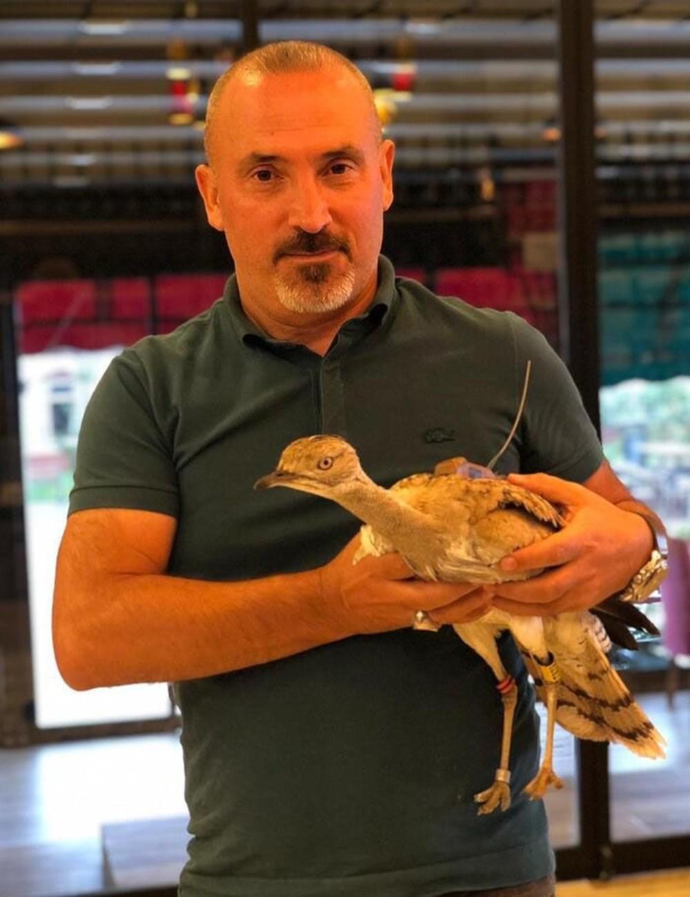 7 yıl sonra Trabzon'da görülen yakalı toy kuşunu avcılar vurdu - 4