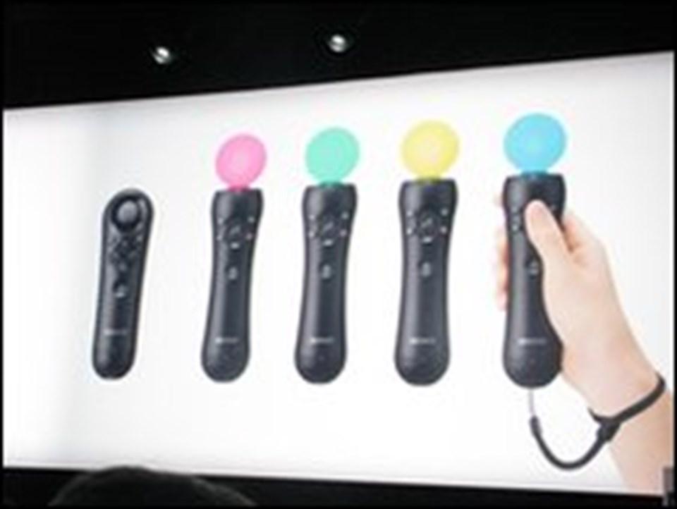 Sony Move, hareket sensörlü oyun kumandası
