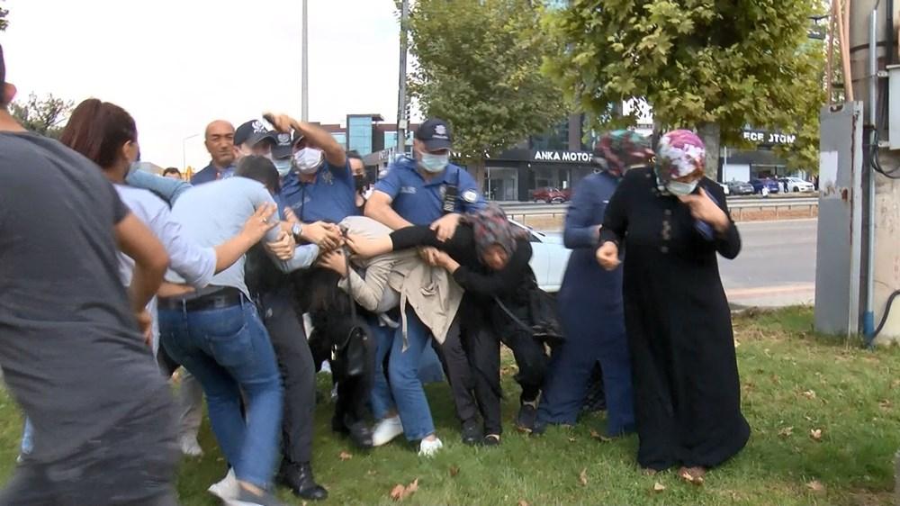 Selama pengintaian, mereka menyerang pengemudi wanita, polisi turun tangan dengan gas air mata - 5