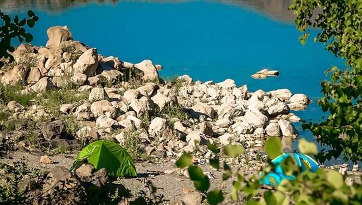 Kampçıların yeni rotası: Bitlis Nemrut Krater Gölü