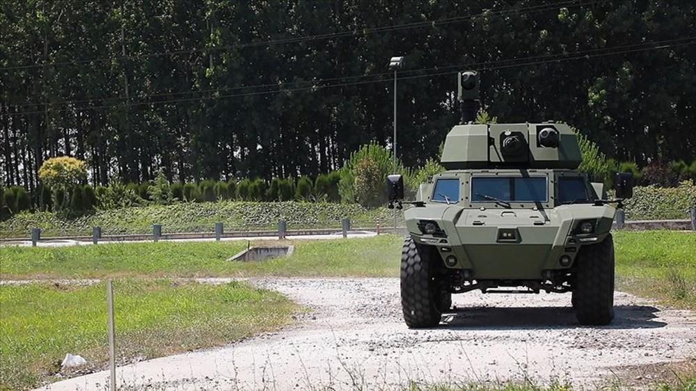 Dijital birliğin robot askeri Barkan göreve hazırlanıyor (Türkiye'nin yeni nesil yerli silahları) - 126
