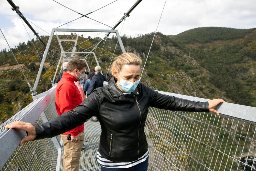 Yayalara özel en uzun asma köprü açıldı - 7