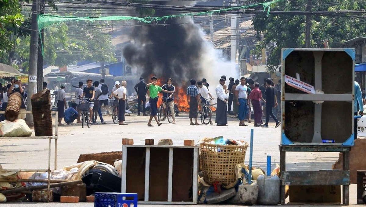 56 casualties in 1 day in anti-coup protests in Myanmar