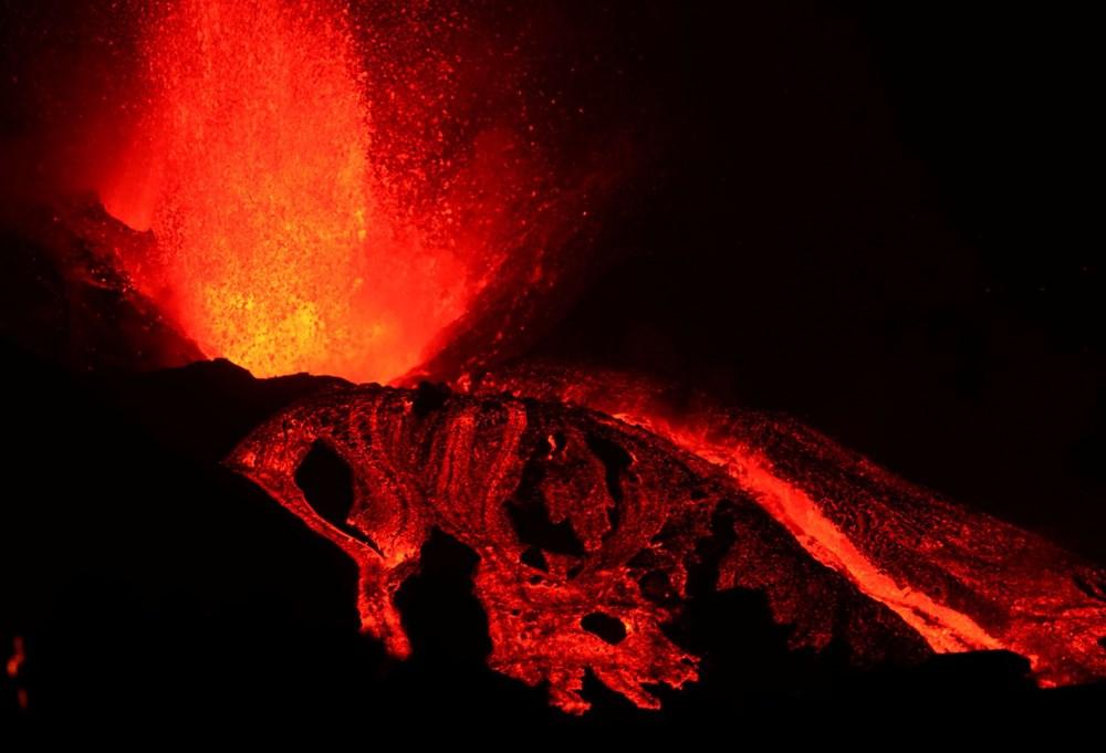 La Palma Yanardağı'nda lav akışı hızlandı: Onlarca ev daha yutuldu - 7