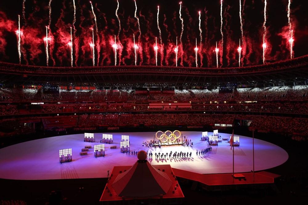 2020 Tokyo Olimpiyatları görkemli açılış töreniyle başladı - 34