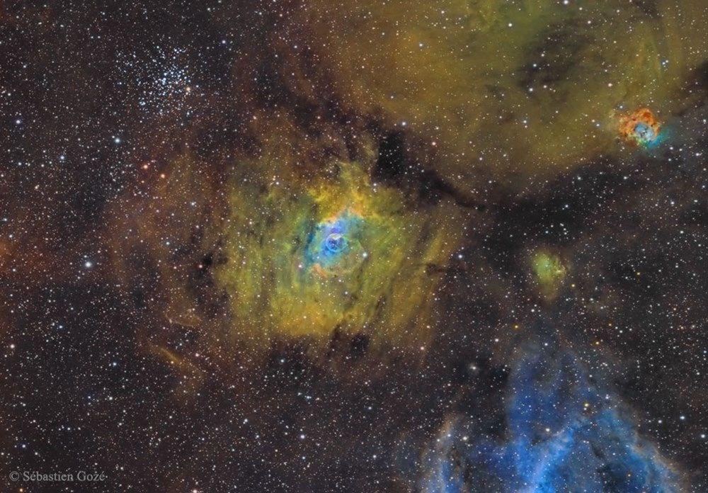 NASA, 250 yıl önce keşfedilen galaksinin fotoğrafını paylaştı: 150 milyon ışık yılı uzaklıkta - 6
