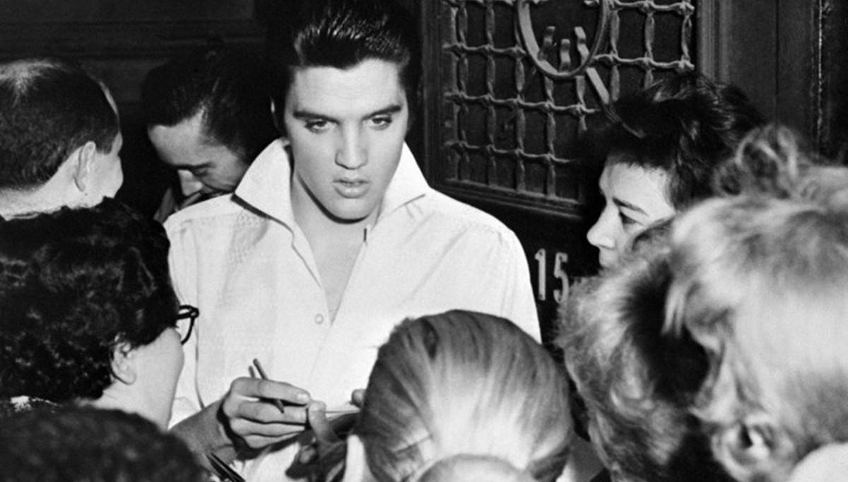 Elvis Presley'nin saçı müzayedede 605 bin liraya satıldı