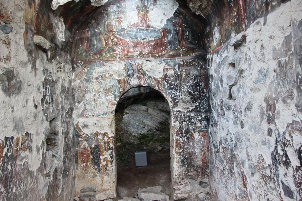 Vazelon Manastırı'nın restorasyonu başka bahara kaldı - 8