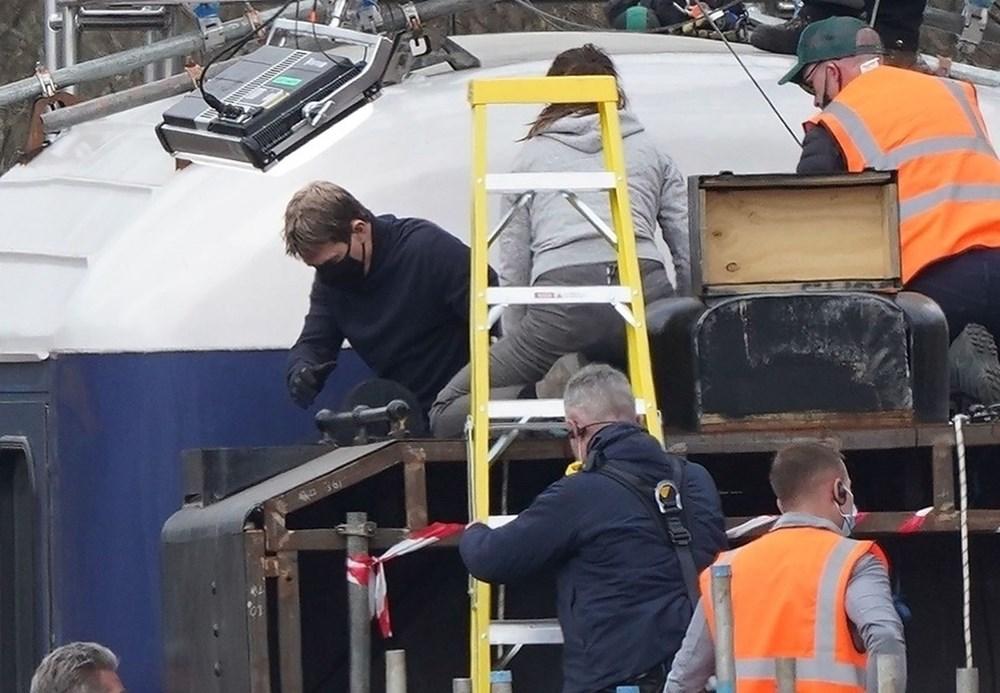 Görevimiz Tehlike 7 (Mission: Impossible 7) filminde tren sahnesi böyle çekildi - 10