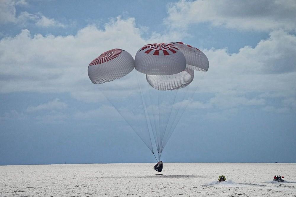 Musk'tan uzayda tuvalet açıklaması: Uzay turistleri döndü - 2