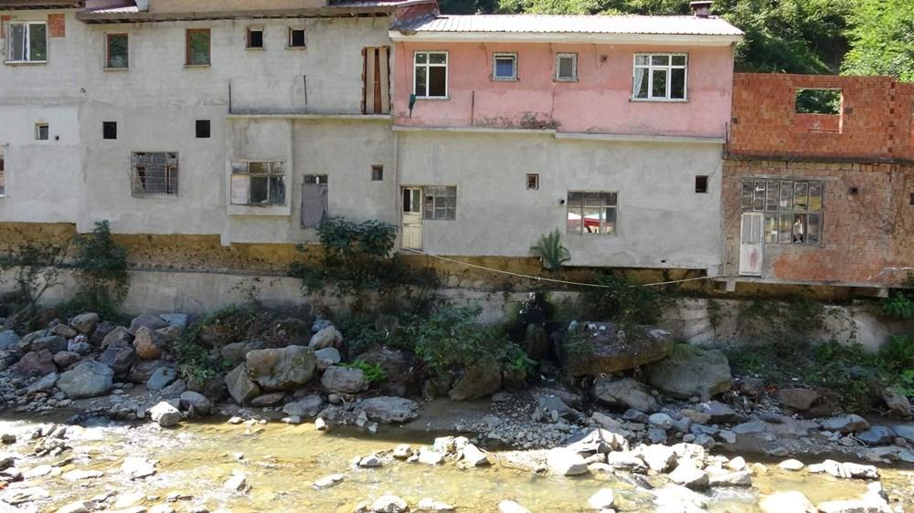 Trabzon'da tedirgin eden görüntü: Giresun'un Dereli ilçesi gibi sel riski taşıyor - 5