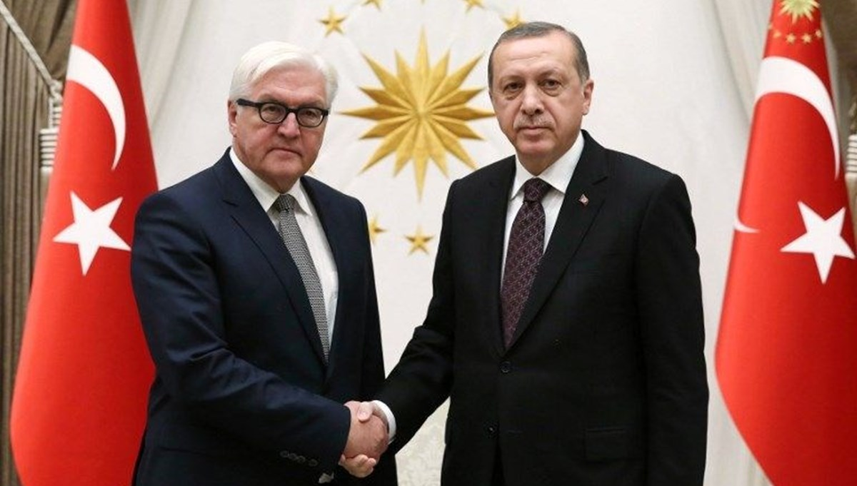 Cumhurbaşkanı Erdoğan, Alman mevkidaşı ile görüştü