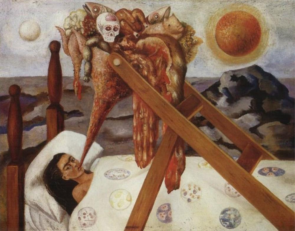 Ressam Frida Kahlo kimdir? (Tahta Bacak Frida Kahlo'nun hayatı) - 11