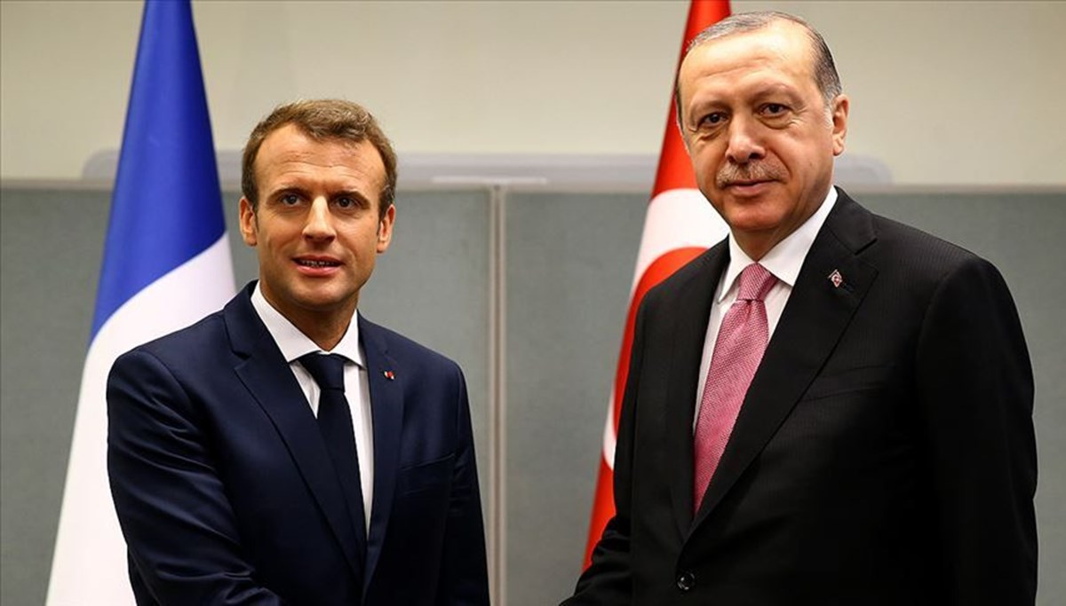Macron'dan Erdoğan açıklaması