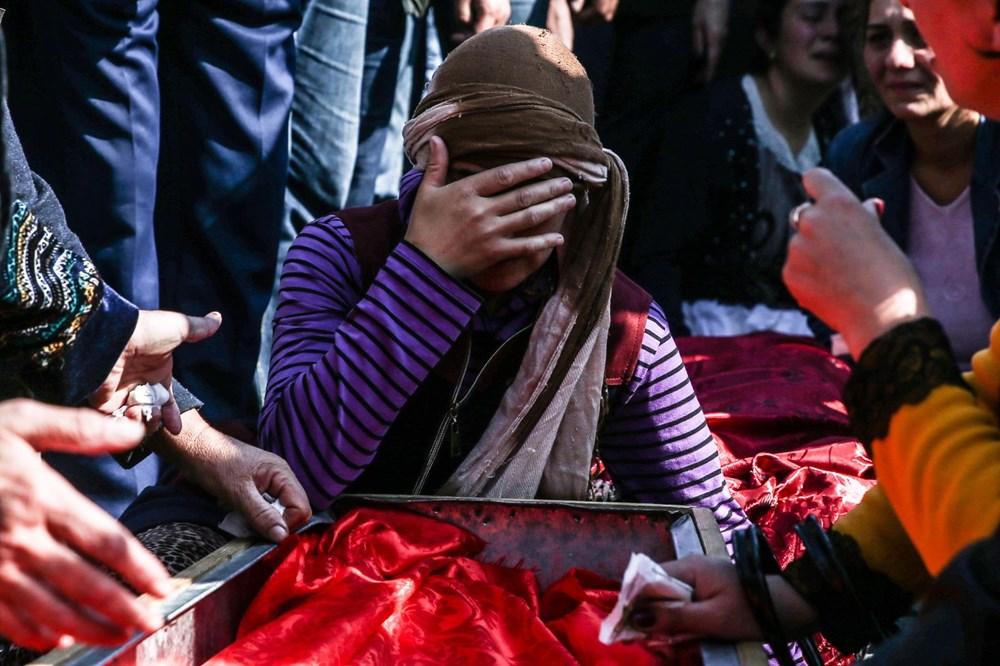 Hain saldırının küçük kurbanları: Cenazede gözyaşları sel oldu - 13