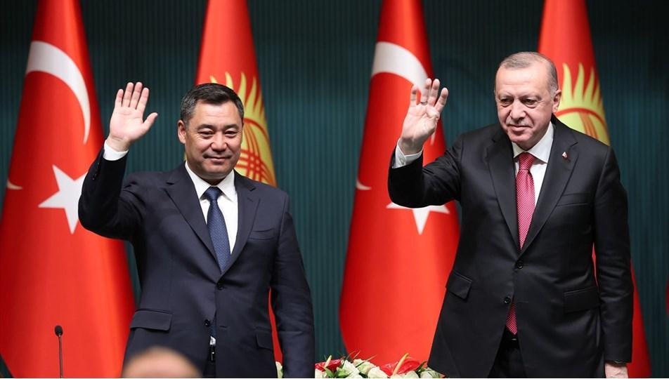 Cumhurbaşkanı Erdoğan, Kırgızistan Cumhurbaşkanı Caparov ile ortak basın toplantısında konuştu | NTV