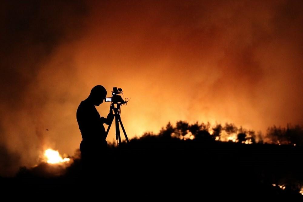 Antalya, Adana, Mersin, Aydın, Muğla, Osmaniye, Kayseri ve Manisa'da orman yangınları - 39