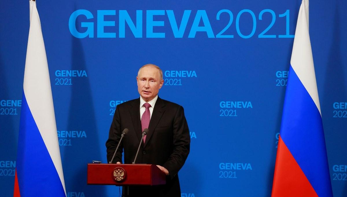 Putin: Görüşmede Biden ile aramızda hiçbir düşmanlık yoktu