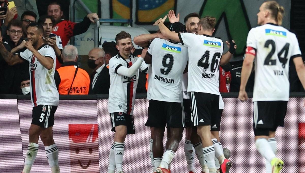 SON DAKİKA: Beşiktaş, Güven Yalçın'ın golleriyle kazandı