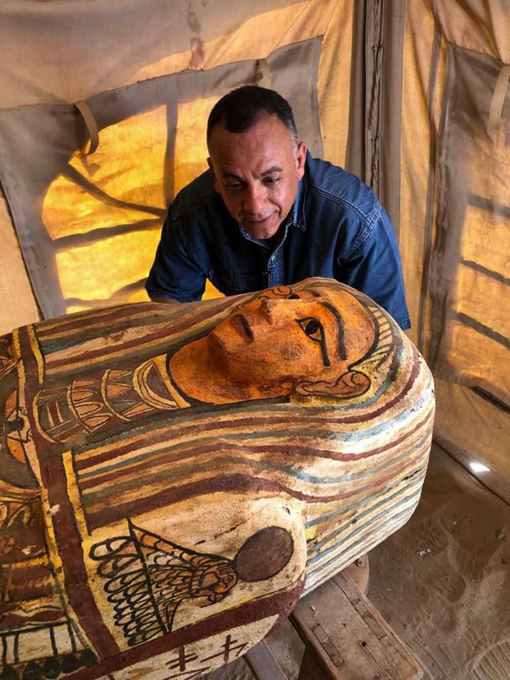 Mısır'da 2 bin 500 yıl öncesine ait 27 lahit bulundu - 2