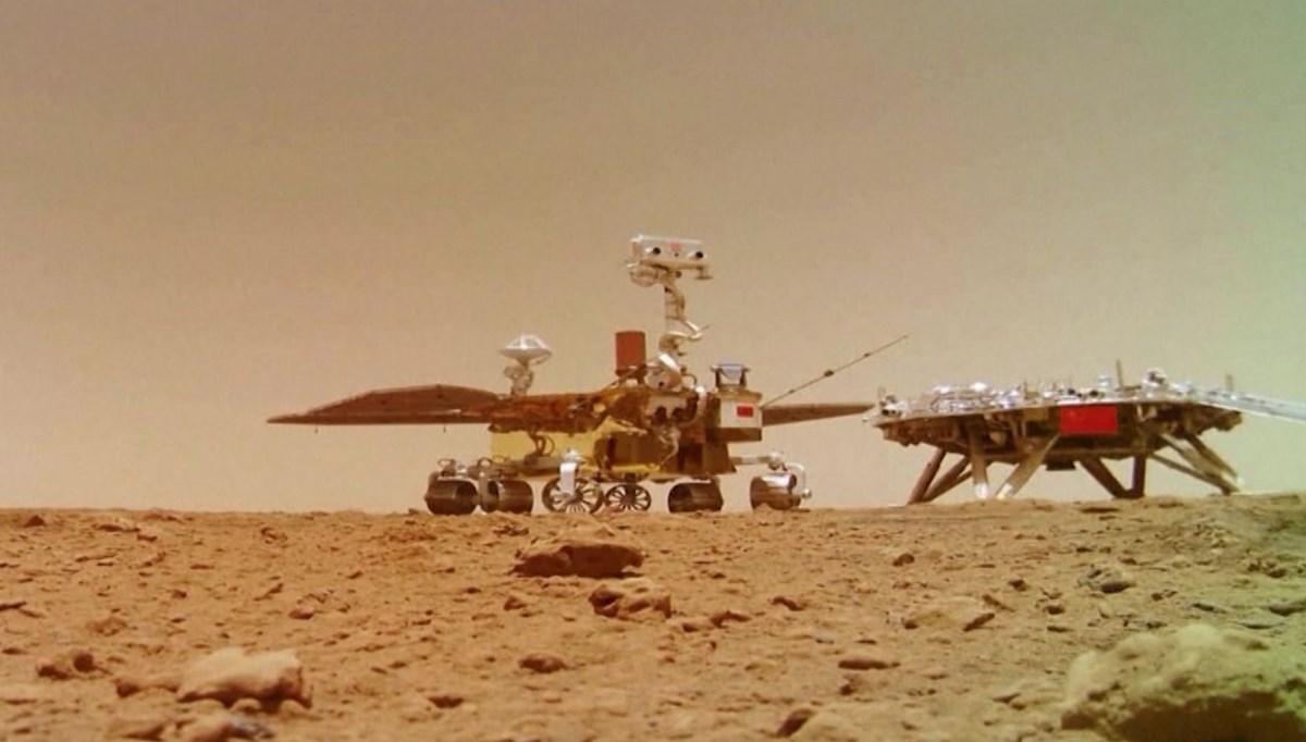 recorded the sound of the Martian wind