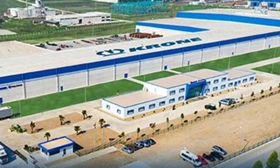 Tesis, yılda 10.000 adet treyler üretim kapasitesine sahip.