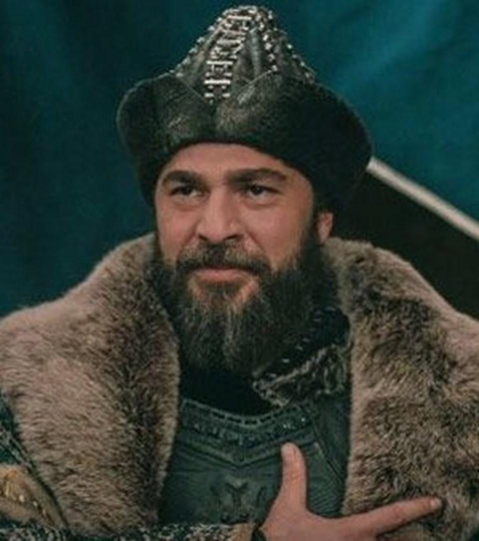 Engin Altan Düzyatan'ın rol aldığı 'Diriliş Ertuğrul'dan bir sahne...