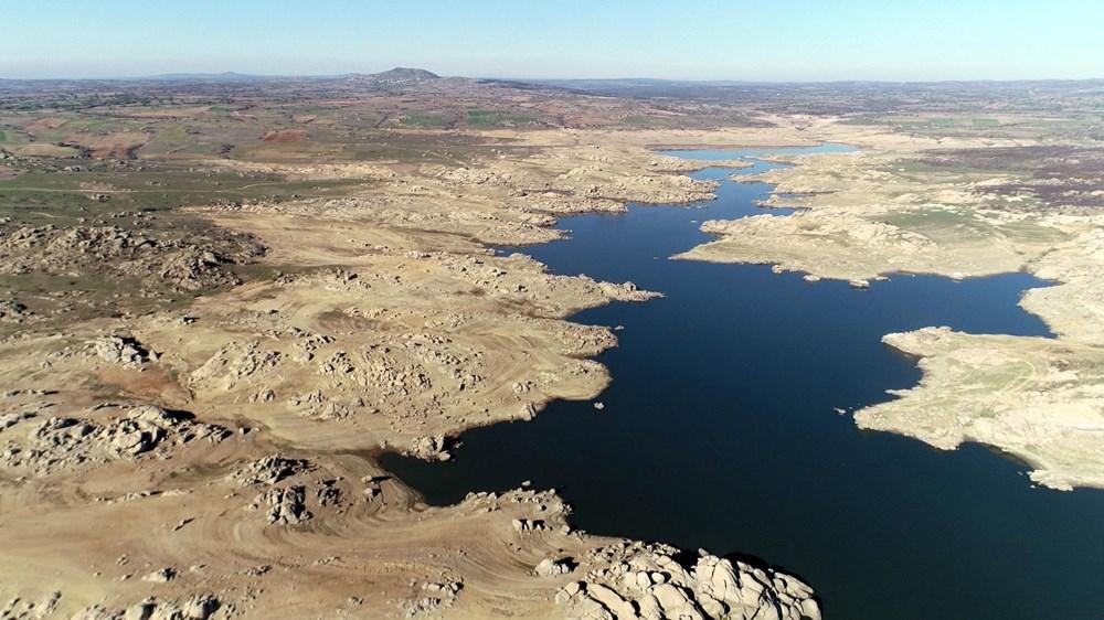 Edirne'nin içme suyunu sağlayan baraj kurudu: 36 saatlik kesinti - 10
