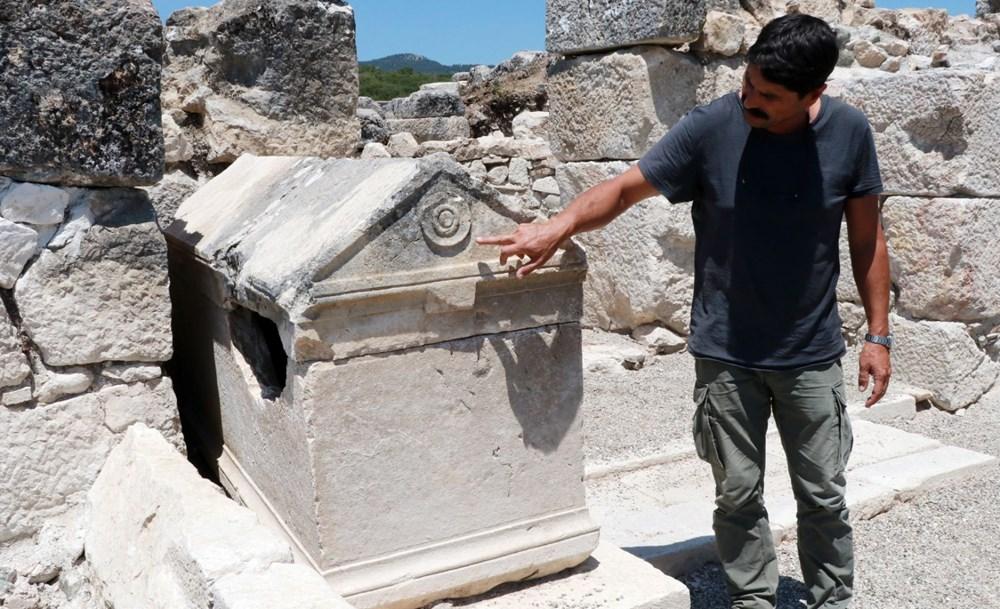 Kibyra'da ilk defa bazilikal planlı kilise bulundu - 6