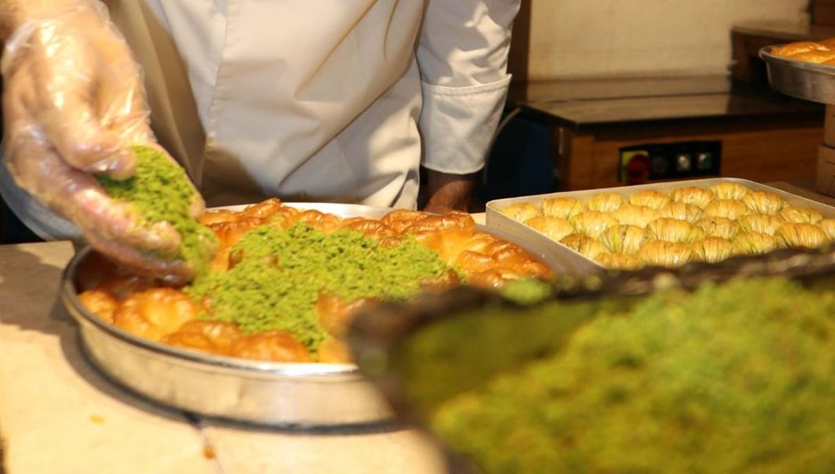 Gazianteplilerin ramazanda tatlı tercihi 'bülbül yuvası'