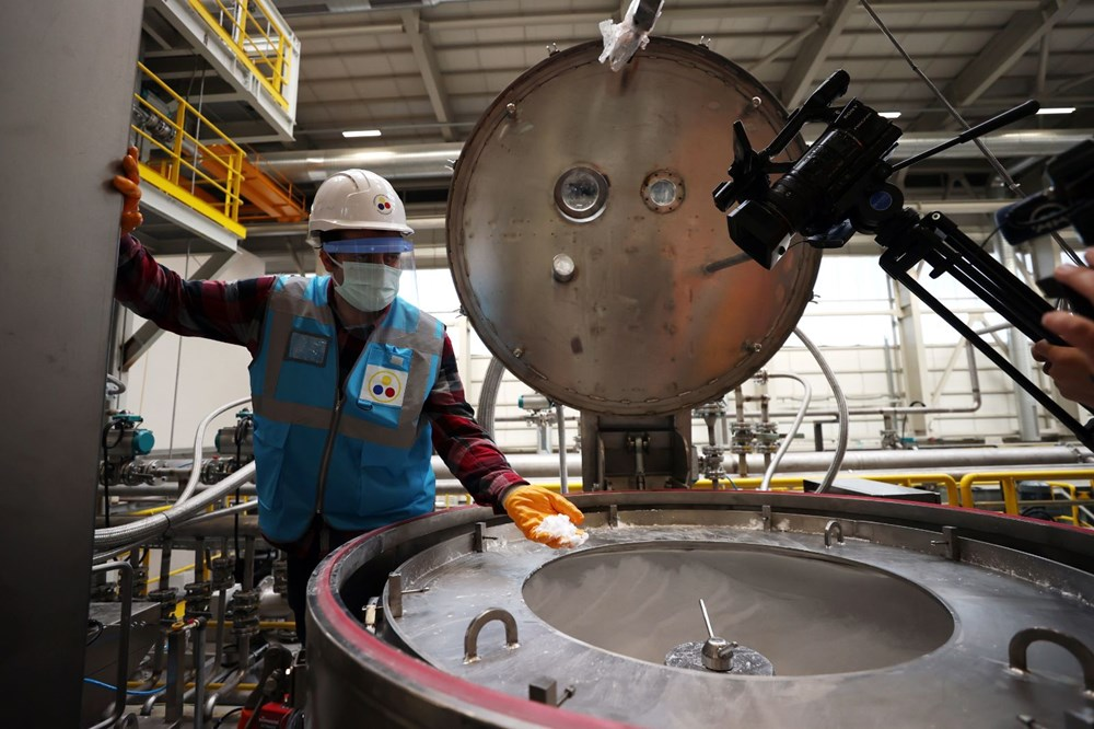 Türkiye'nin ilk lityum üretim tesisi resmen açıldı - 11