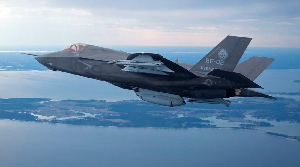 F-35'ten bir ilk (Nükleer bomba ile uçtu) - 26