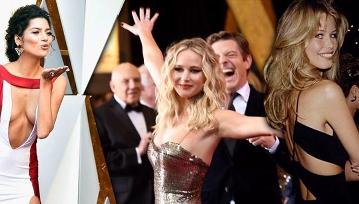 Oscar modasının yıllar içindeki çarpıcı değişimi